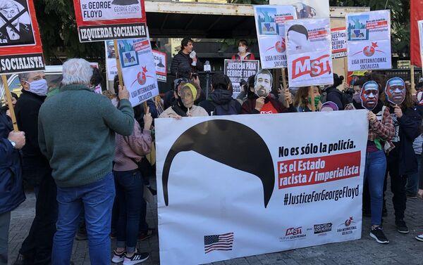 Gabriel Solano, legislador porteño, habla frente a la Cámara de Comercio de los EEUU en Argentina - Sputnik Mundo