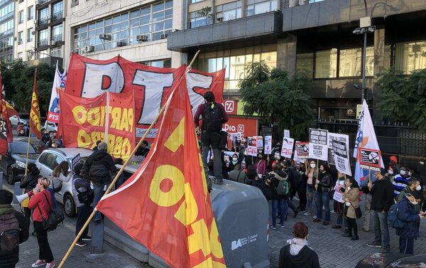 Los partidos de izquierda argentinos se movilizaron contra el racismo y la violencia de Estado - Sputnik Mundo