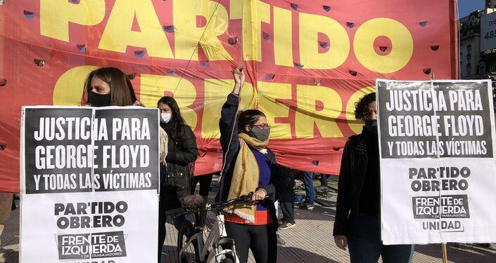 Los partidos de izquierda argentinos se movilizaron contra el racismo y la violencia de Estado