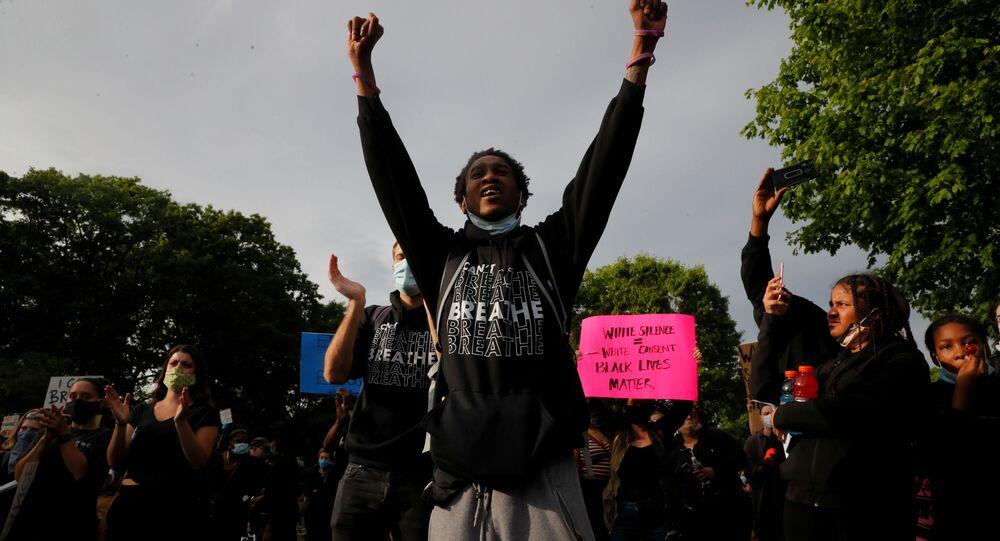 Protestas en Minneapolis, Estados Unidos
