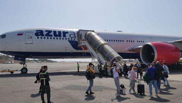Avión de la aerolínea Azur Air - Sputnik Mundo
