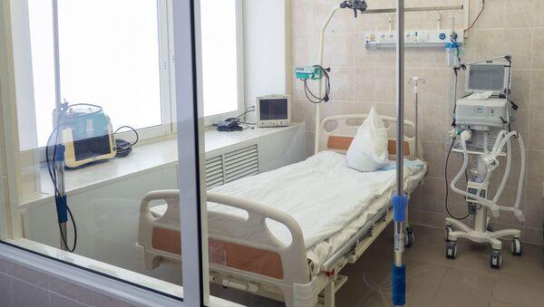 Unidad de cuidados intensivos (referencial) - Sputnik Mundo