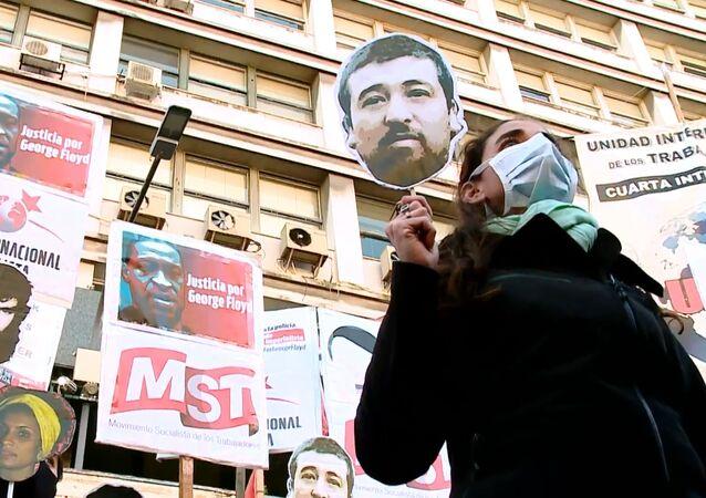 Las protestas de Argentina por la muerte de George Floyd