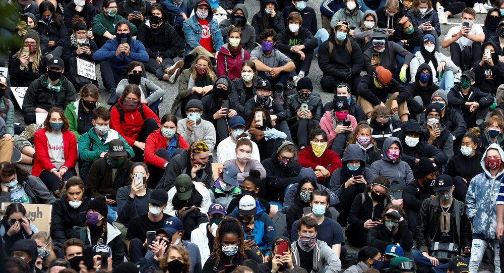 Protestas en Washington
