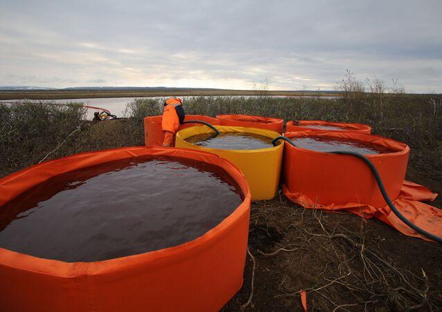 Consecuencias del derrame de combustible en Norilsk