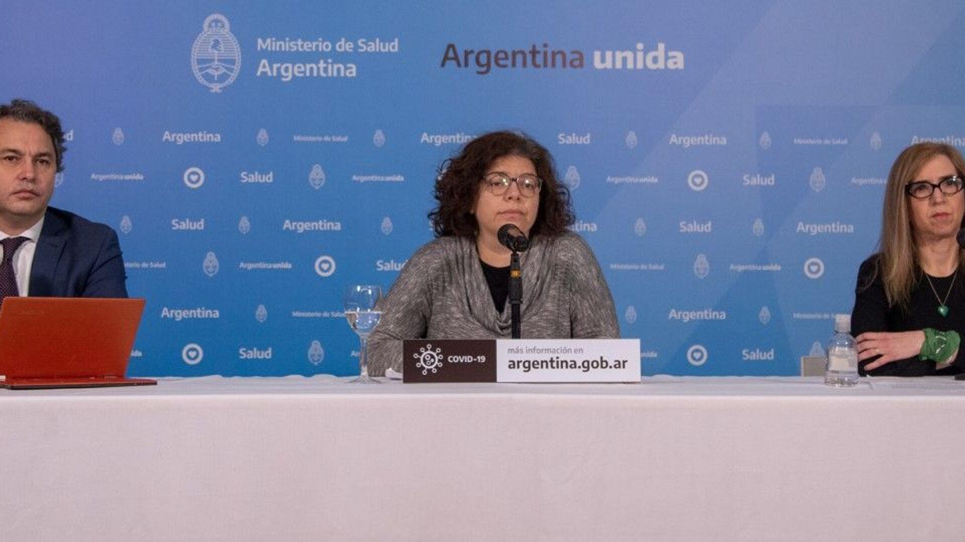 Carla Vizzotti, secretaria de Acceso a la Salud del Ministerio de Salud de Argentina - Sputnik Mundo, 1920, 19.07.2021