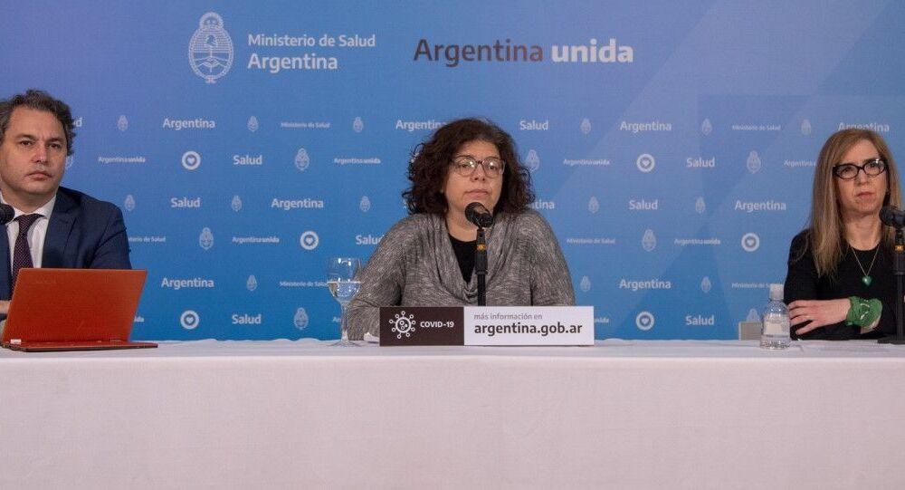 Carla Vizzotti, secretaria de Acceso a la Salud del Ministerio de Salud de Argentina