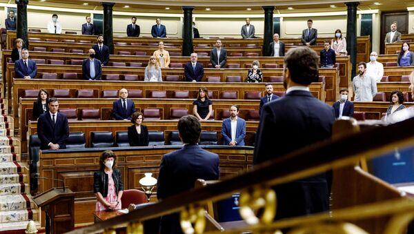 El Congreso de los Diputados de España - Sputnik Mundo