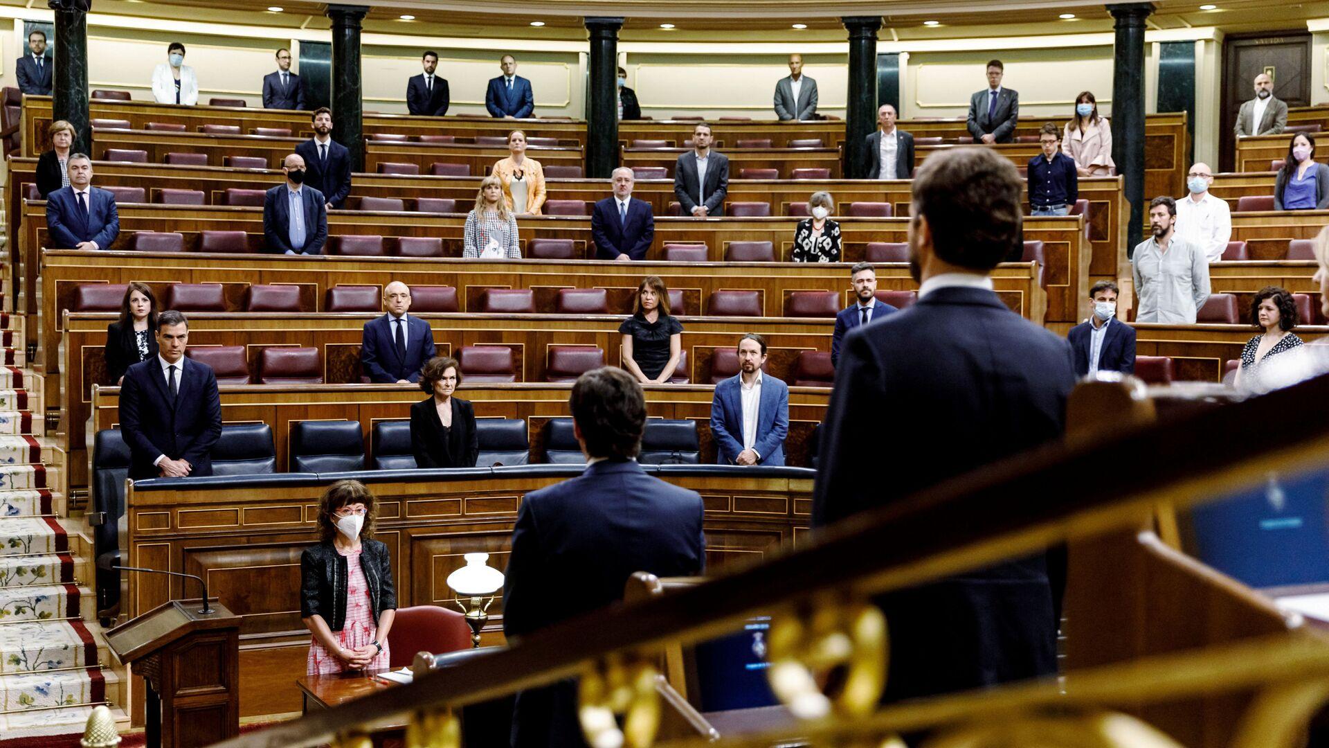 El Congreso de los Diputados de España - Sputnik Mundo, 1920, 06.06.2020