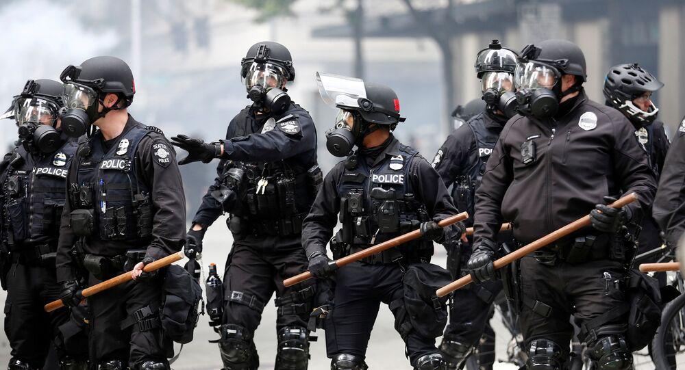 Policía de Seattle, EEUU