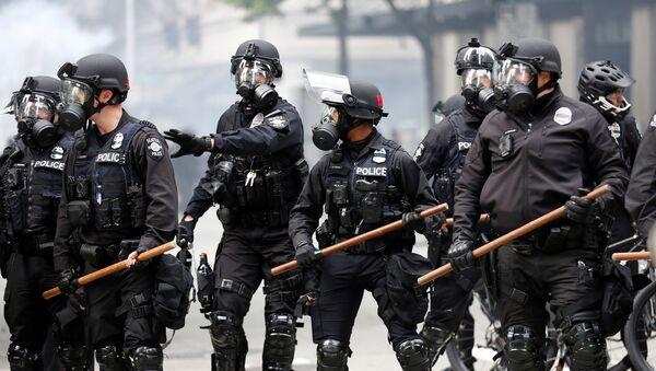 Policía de Seattle, EEUU - Sputnik Mundo
