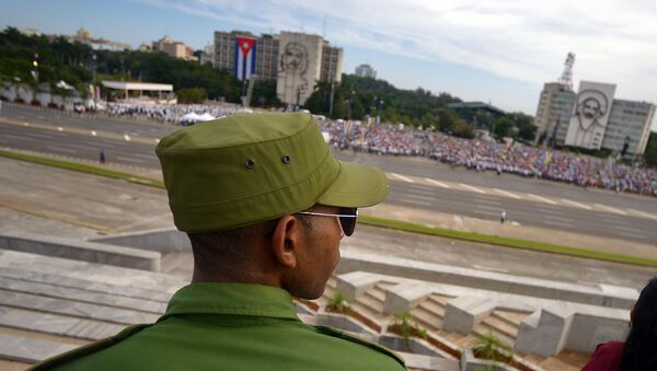 Un militar cubano - Sputnik Mundo