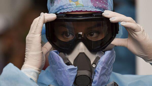 Una médico colombiana en Cali - Sputnik Mundo