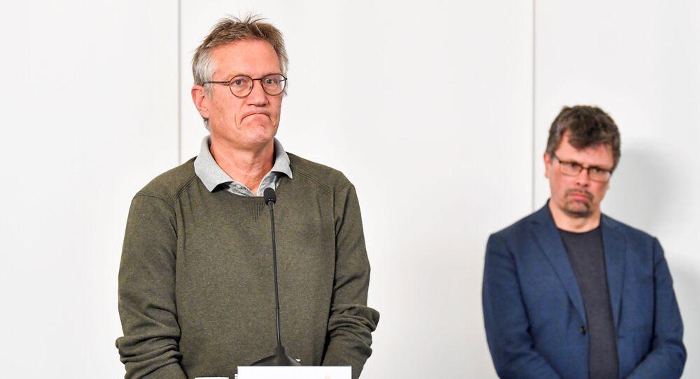 Anders Tegnell, epidemiólogo de la Agencia de Salud Pública de Suecia
