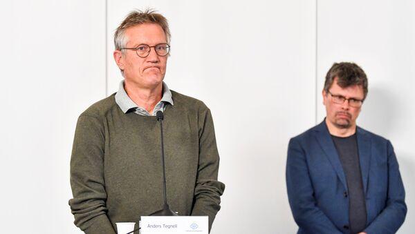 Anders Tegnell, epidemiólogo de la Agencia de Salud Pública de Suecia - Sputnik Mundo