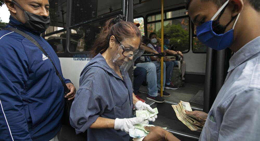 La vida cotidiana en Caracas, Venezuela (imagen referencial)