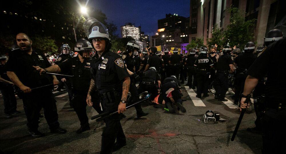 Protestas en Nueva York, EEUU