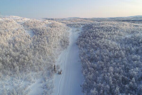 El paisaje del Ártico ruso  - Sputnik Mundo