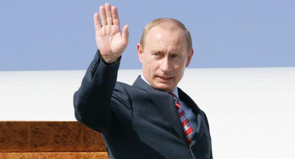 El presidente ruso, Vladímir Putin, tras la cumbre del G8 de 2007 (archivo)