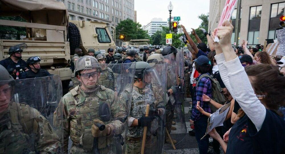 Protestas en Washington, EEUU