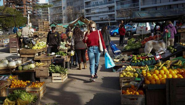 Un mercado en Montevideo, Uruguay - Sputnik Mundo