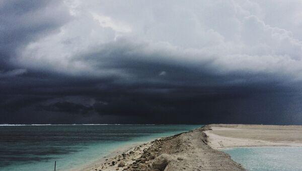 Una tormenta tropical (imagen referencial) - Sputnik Mundo
