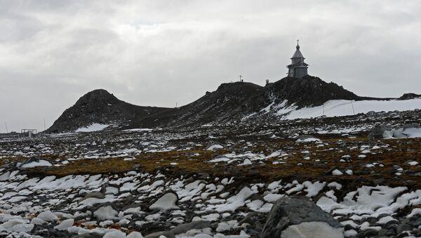 Un paisaje antártico - Sputnik Mundo
