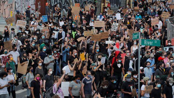 Protestas en Brooklyn, Nueva York - Sputnik Mundo