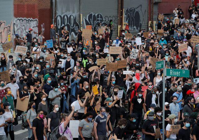 Protestas en Brooklyn, Nueva York