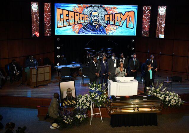 El servicio conmemorativo en Minneapolis para honrar a George Floyd
