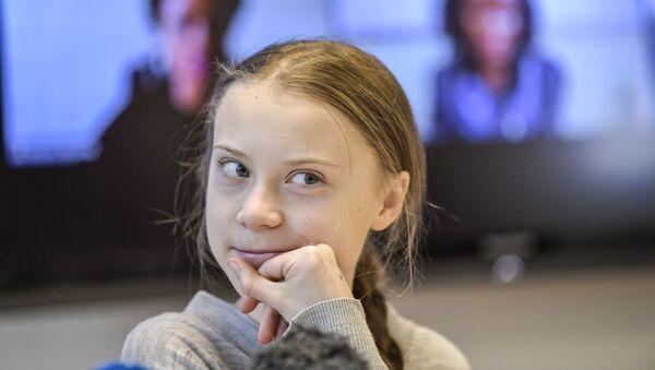 Greta Thunberg - Sputnik Mundo