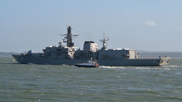 Fragata antisubmarina Almirante Lynch de la Armada de Chile - Sputnik Mundo