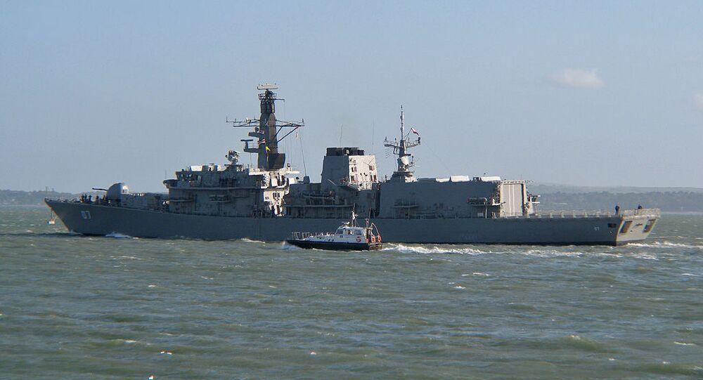 Fragata antisubmarina Almirante Lynch de la Armada de Chile
