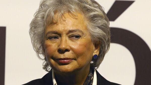 Olga Sánchez Cordero, secretaria de Gobernación de México - Sputnik Mundo