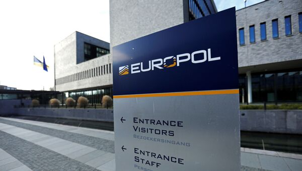 Vista general del edificio del Europol en La Haya - Sputnik Mundo