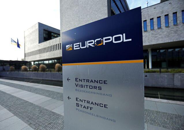 Vista general del edificio del Europol en La Haya