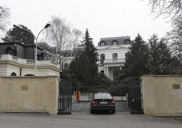 La Embajada rusa en La República Checa