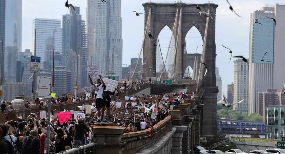 Protestas antirracistas en Nueva York, EEUU
