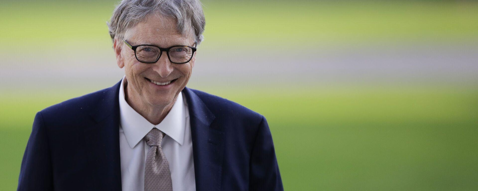 Bill Gates, fundador de Microsoft - Sputnik Mundo, 1920, 28.10.2020