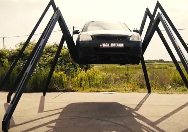 Un coche-araña