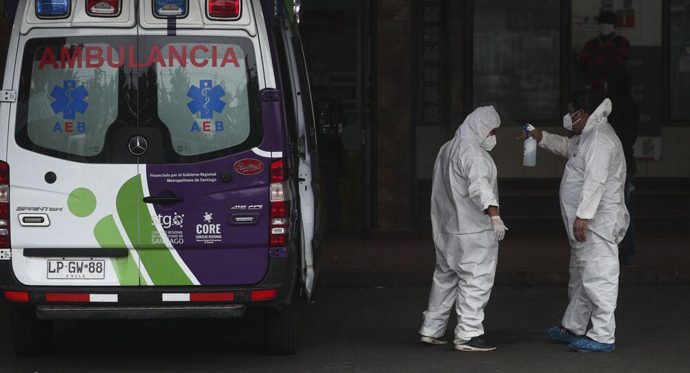Los trabajadores de la salud en Chile