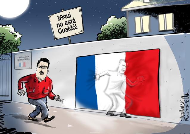 Francia juega al escondite con Juan Guaidó en Venezuela