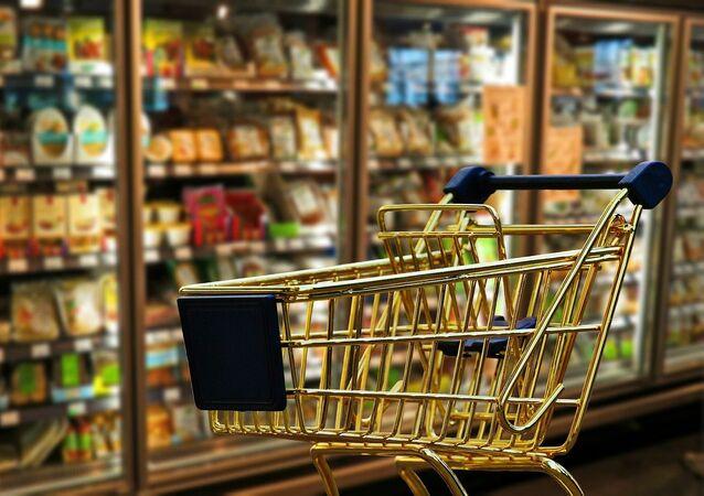 Un supermercado, referencial