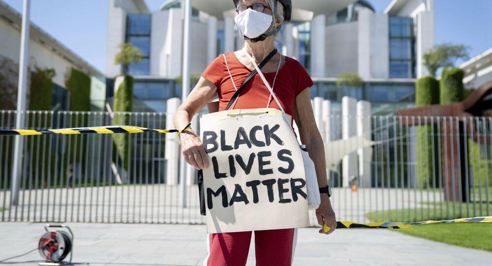 Protesta contra el racismo en Alemania