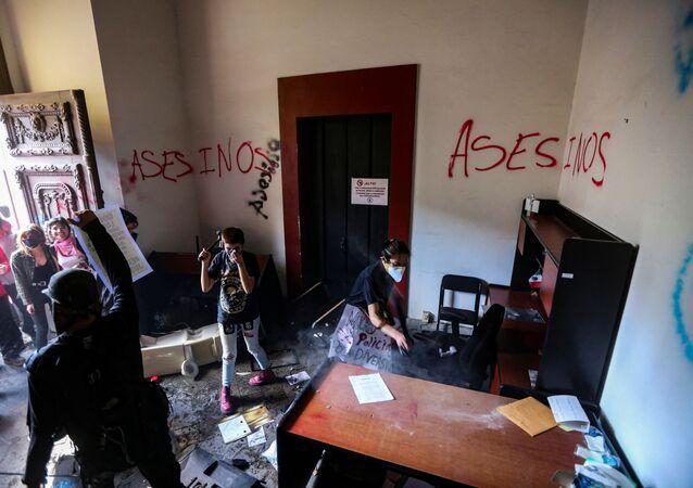 Protestas en Jalisco contra la violencia policial