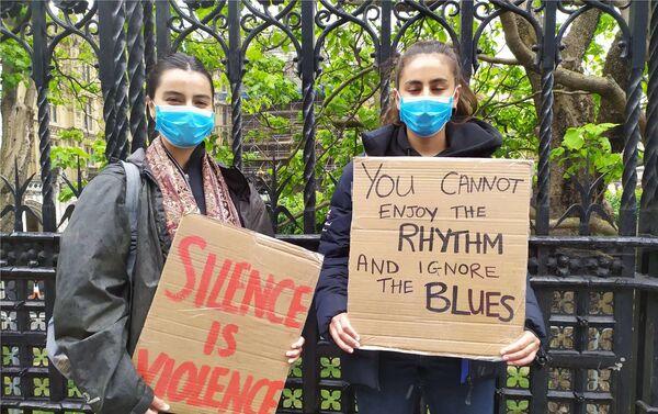 Estudiantes, protagonistas en las manifestaciones en Londres - Sputnik Mundo