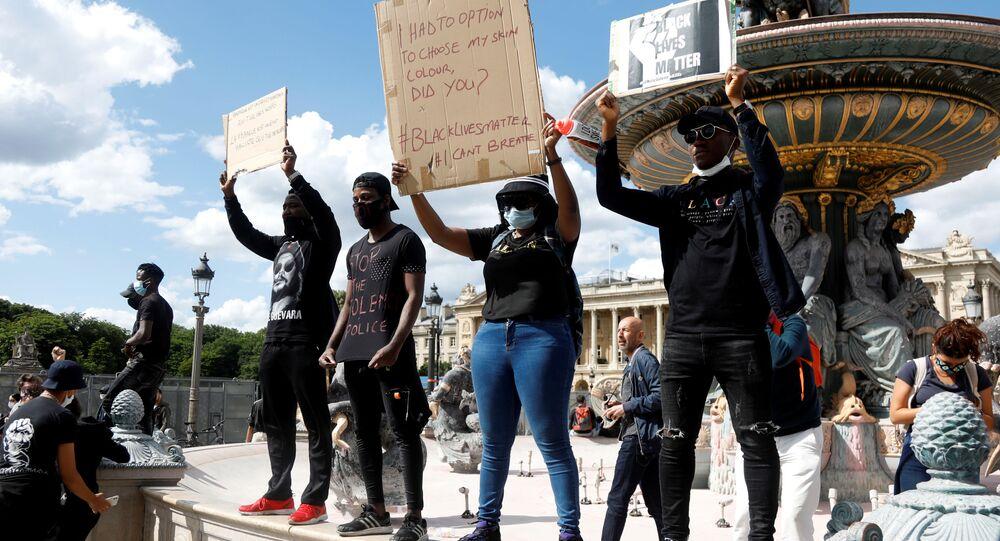 Protestas en París contra el racismo y la violencia policial