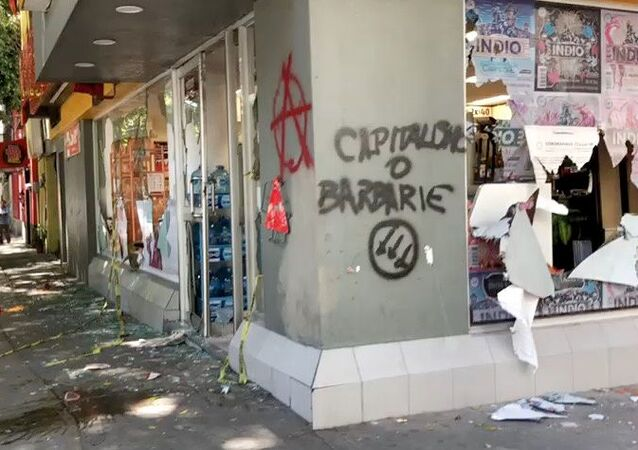 Protestas en la Ciudad de México contra la violancia policial