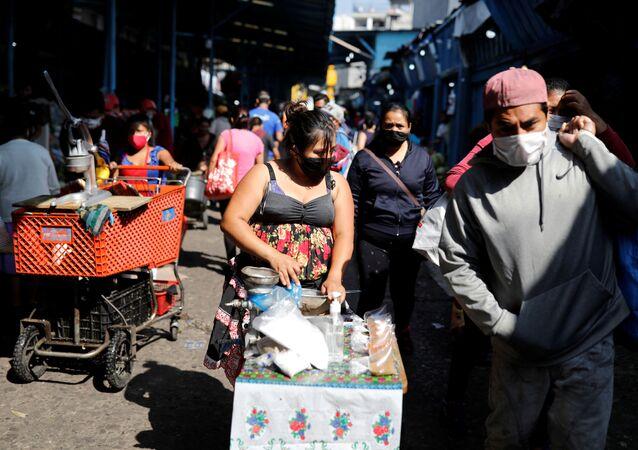 Propagación de coronavirus en Guatemala
