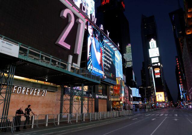 La zona del Times Square en Nueva York